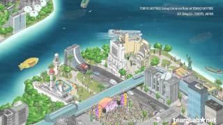 The TOKYO SKYTREE mural / 東京スカイツリーの壁画(隅田川デジタル絵巻) thumbnail