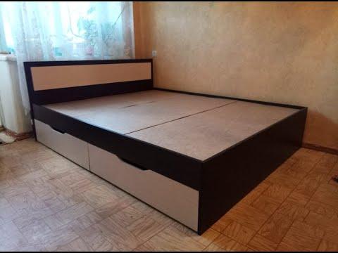 кровать Гармония с ящиками. Mebeelek.ru