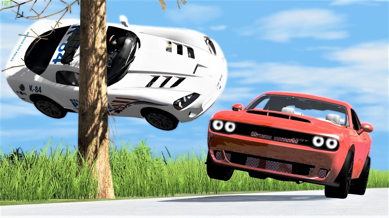 Download High Speed Street Racing Crashes #26 - BeamNG Drive   CRASHdriven