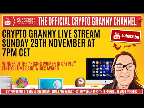 "Crypto Granny ""Weekly Market Roundup"" – NOT TO BE MISSED for serious investors."