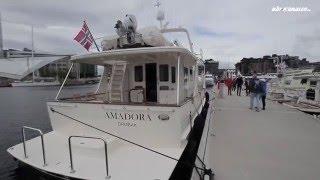 Fleming 58 - Båten koster 30 millioner og har marmorgulv på badet