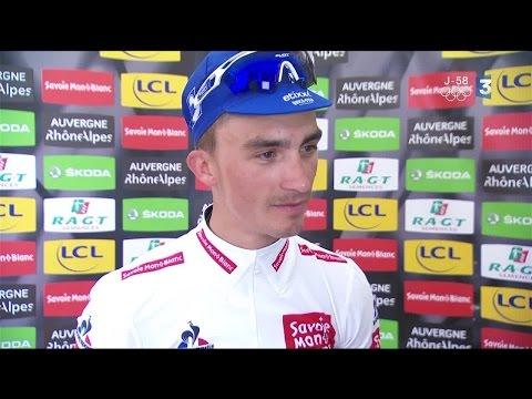 VIDEO. La réaction de Nacer Bouhanni après la 3e étape du Critérium du Dauphiné