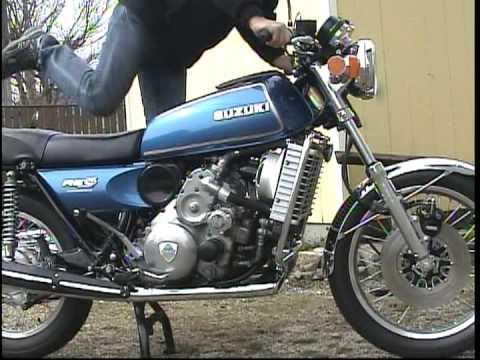 how to start a kickstart motorcycle