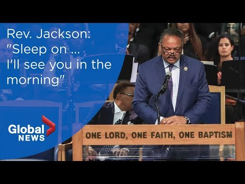 Aretha Franklin funeral: Rev. Jesse Jackson FULL eulogy