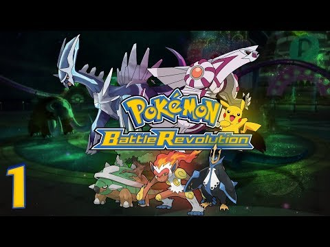 Pokémon: Battle Revolution (Nintendo Wii) - HD Walkthrough Episode 1 - Main Street Colosseum