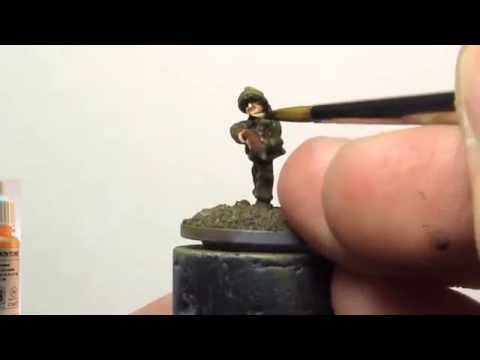 How to Paint Battlefront Miniatures 15mm Late WW2 British Infantry