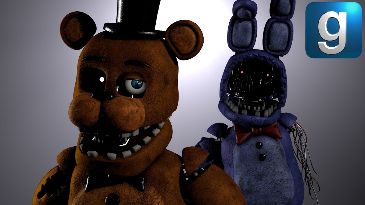 Gmod FNAF | New Withered Dreams Pill Pack
