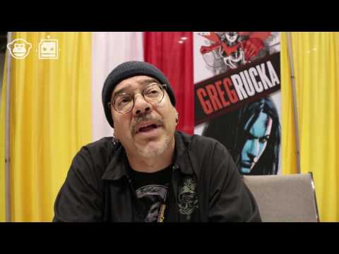 MegaCon: Greg Rucka On Wonder Woman And The Responsibility of Comic Publishers And Creators