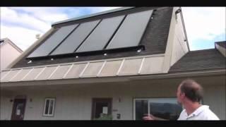 Custom Solar - Drainback Solar Hot Water System Overview