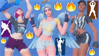 "*NEW* Fortnite ""Beach Bomber"" Summer Styles CONCEPTS..! ""Part 2"" (Angel, Power Chord, Soccer..)"