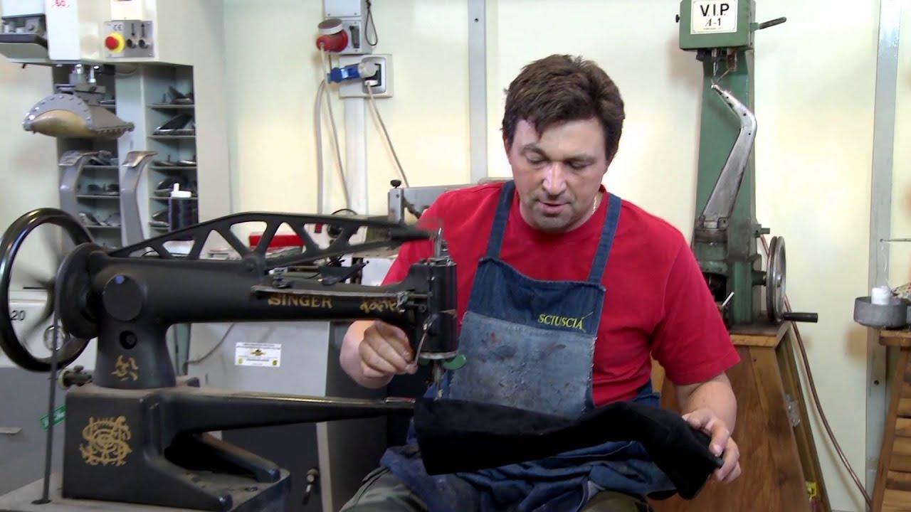Il calzolaio inventore youtube for Macchina per cucire da calzolaio