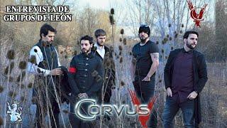 Entrevista de Grupos de León - Corvus V