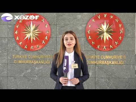 Prezident İlham Əliyev Türkiyəyə rəsmi səfər edib