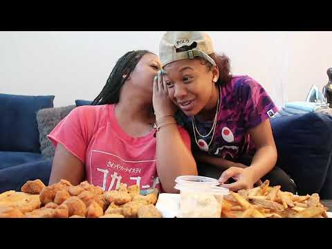 MUKBANG WITH MY DAUGHTER CATCHING UP *HOTTEST HOT SAUCE EVER!*