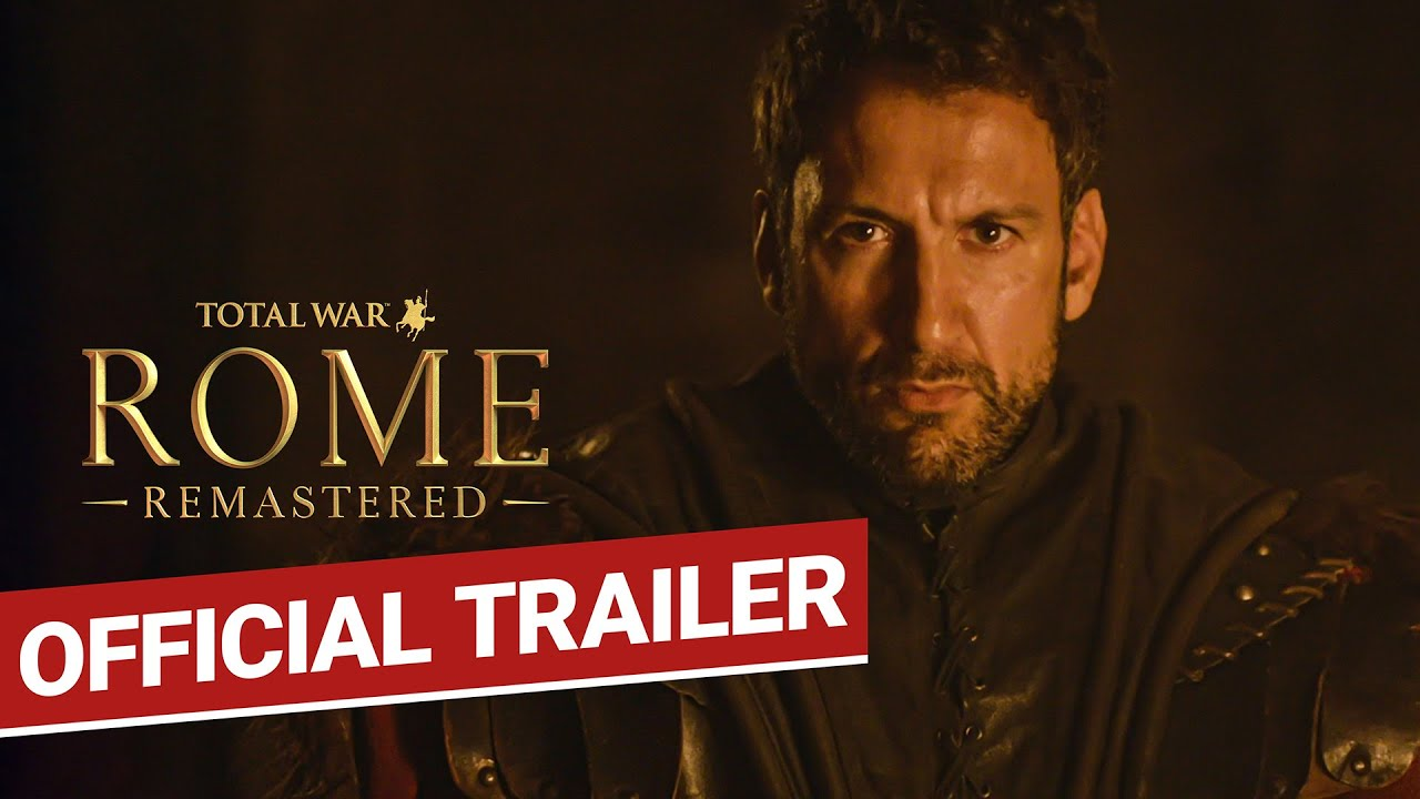 [PEGI PRESS] Total War: ROME REMASTERED Announce Trailer - Take Back Your Empire