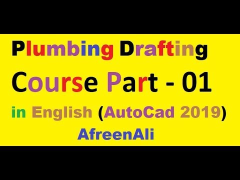 Plumbing Drafting Course Part -1 (MEP AutoCad 2019) Drainage System