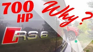 Why Did I Buy A 700HP Audi RS6? SO FAST!!!