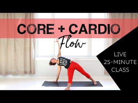 LIVE Core + Cardio Flow