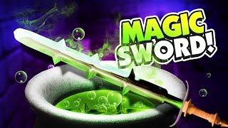CRAFTING MAGIC SWORDS! - Fantasy Blacksmith