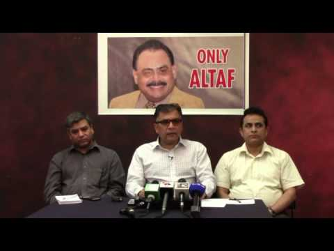 Press Conference of Coordination Committee of MQM - 16 June 2017