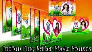 how to make indian flag letter photo frame,#hsbtech screenshot 4