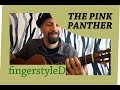 Pink Panther Theme, on solo fingerstyle guitar