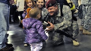Welcome Home Soldier Surprise Homecoming Compilation 1