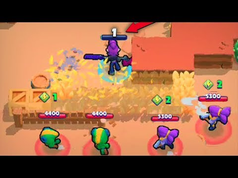 1 HP PLAYS! :: Brawl Stars Funny Moments, Fails & Wins.