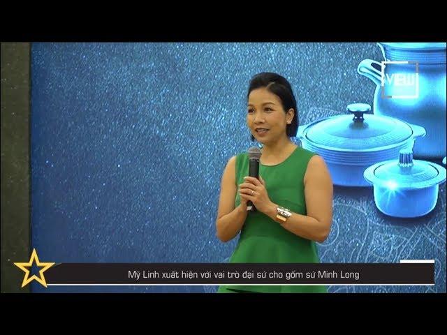 Mỹ Linh xuất hiện với vai trò đại sứ cho gốm sứ Minh Long | Showbiz 101 | VIEW