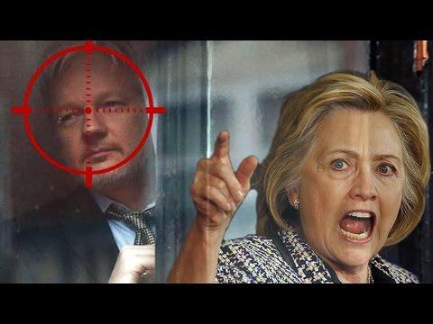 Hillary Clinton Wanted To Assassinate Wiki Leak's Julian Assange