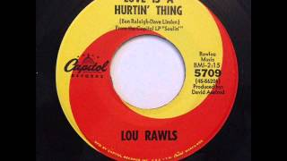 Love Is A Hurtin Thing  - Lou Rawls