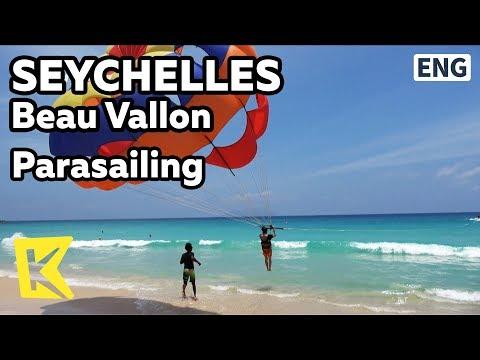 【K】Seychelles Travel-Beau Vallon[세이셸 여행-보발롱]패러세일링/Parasailing/Beau Vallon beach/Activity