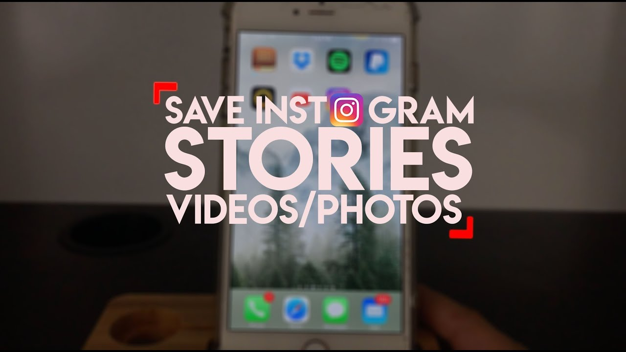 How to anonymously save instagram stories youtube how to anonymously save instagram stories ccuart Images