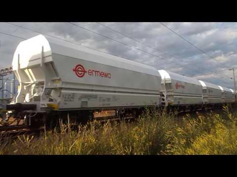 Brand new NS Ermewa Falns wagons from Đuro Đaković, Slavonski Brod to Netherlands