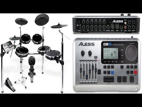 Alesis DM10X Kit Premium 6-Piece Electronic Drum Set With HD Drum Module, XRack and XL RealHead Pads
