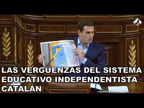 ¡¡MAGISTRAL ALBERT RIVERA!! AVERGÜENZA al INDEPENDENTISMO por el ADOCTRINAMIENTO en CATALUÑA
