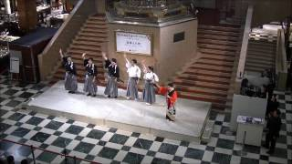 去る11月5日に、日本橋三越本館のイベントに、殺陣と日舞のパフォーマン...