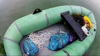 Ловля на мормышку летом с лодки.+ подводная сьемка.