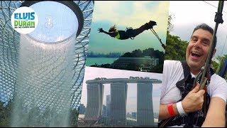 Gandhi and Skeery Go to Singapore! | Elvis Duran Exclusive