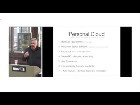 Cloud: It's Time To Make It Personal - Tristan Nitot - Cozy.io - OuiShare Labs Camp #3