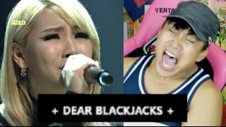SAD LETTER FROM 2NE1 CL & SANDARA (ANGRY BLACKJACK)