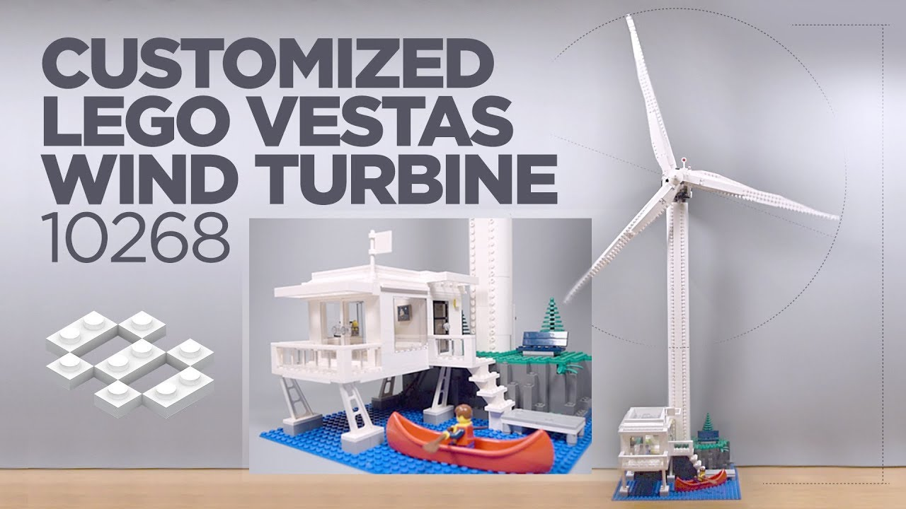 Alternative Build for LEGO Vestas Wind Turbine 10268