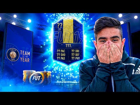 NACI UNUVAR PACKED WALKOUTS IN TOTY PACK OPENING FIFA 19
