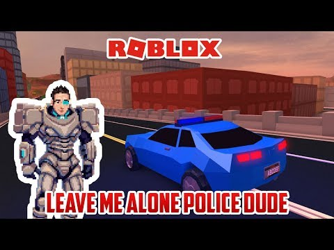 This Policeman WILL NOT GIVE UP | Roblox Jailbreak