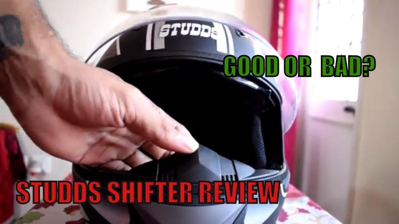 Studds Shifter Helmet Review Youtube: STUDDS SHIFTER D8 REVIEW (HINDI / ENGLISH) 2017