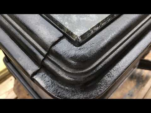 OGH - How To Remove Rust From A Soapstone Hearthstone Wood Burning Stove Make It Look Like New