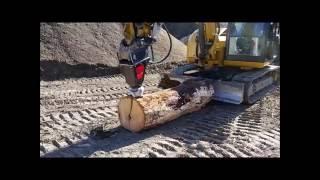 log splitter by black splitter model s2x 800