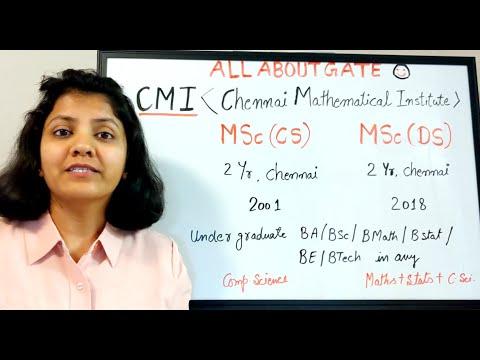CMI MSc(Comp Sci) MSc(Data Science) | Selection Procedure & Placement | Without Gate Admission