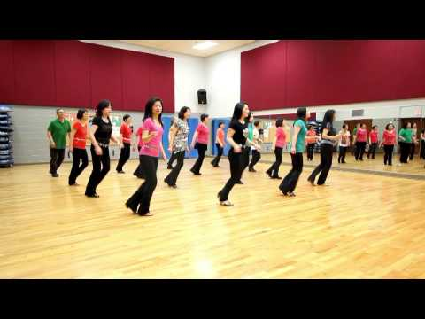 The Violin - Line Dance (Dance & Teach in English & 中文)