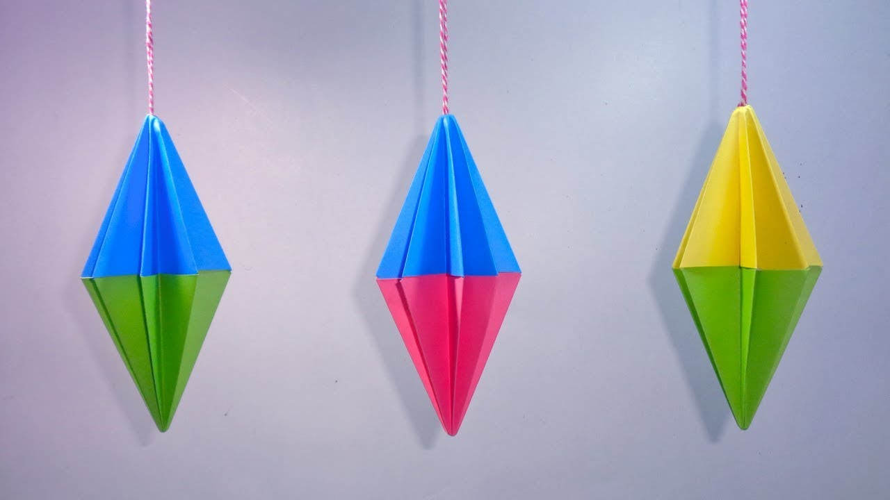Paper Crafts Ideas For Christmas Decorations Hanging Paper